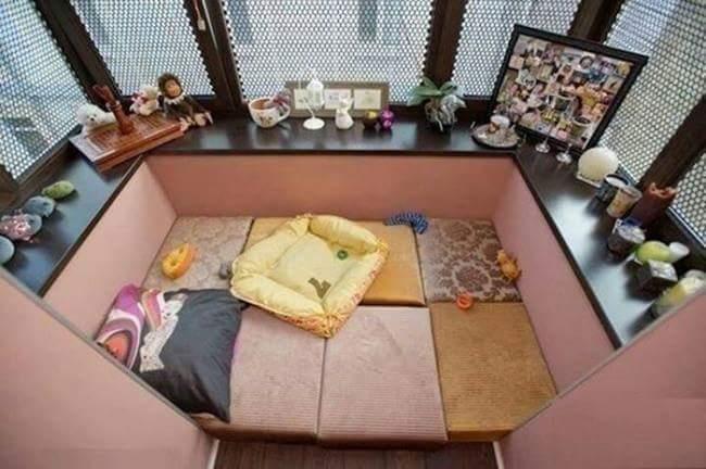 Balcony set idea
