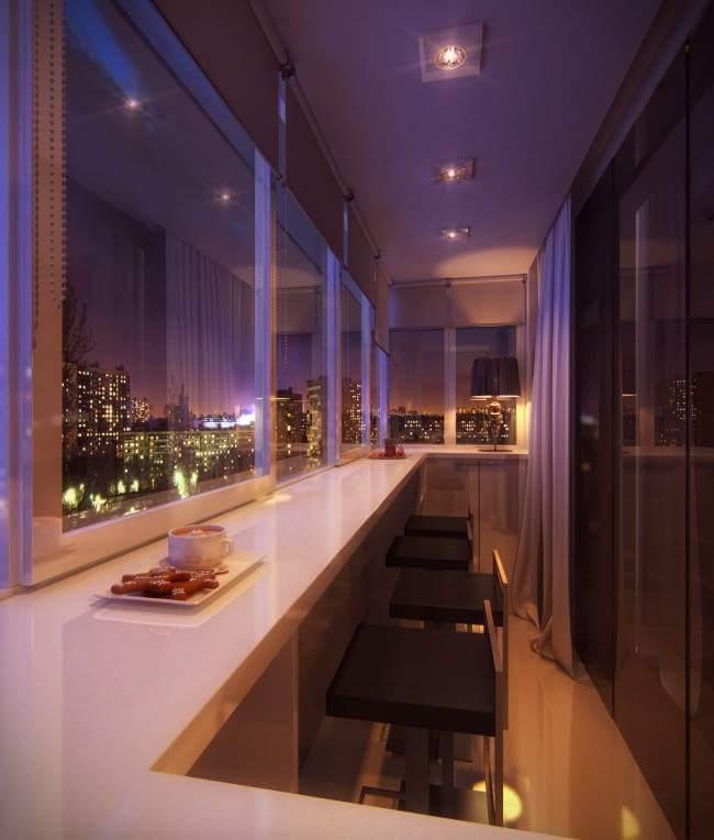 Contemporary Balcony interior design
