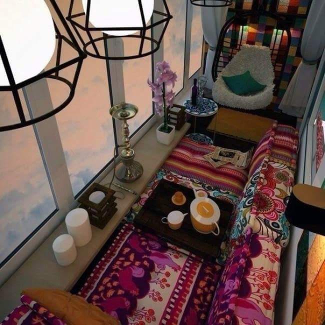 comfort Balcony Furniture idea