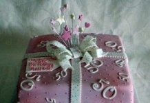 50th birthday cakes for women
