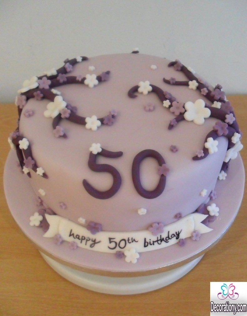 50th cake for her