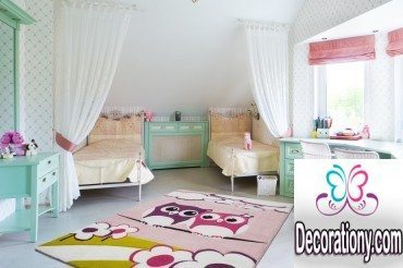 This Area Rug Design Suitable For Girls And Baby Room