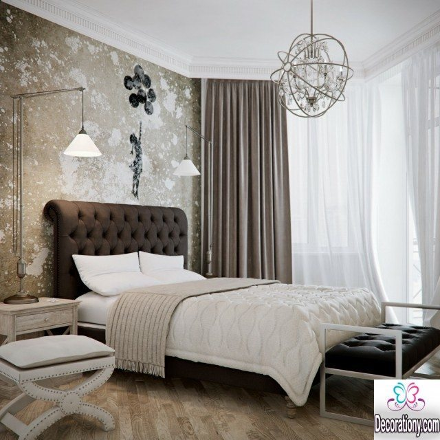 bedrom wall paint idea