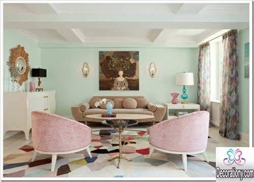 best living room wall idea