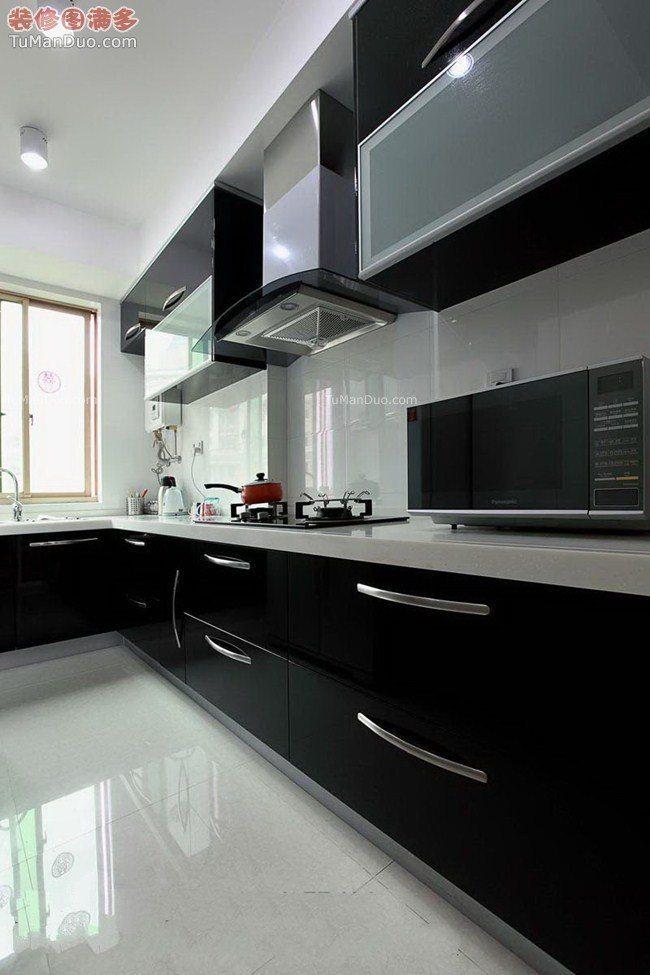 B&W kitchen designs