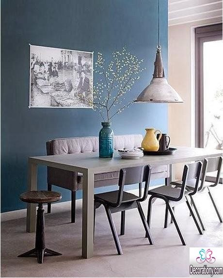blue dining room painting ideas