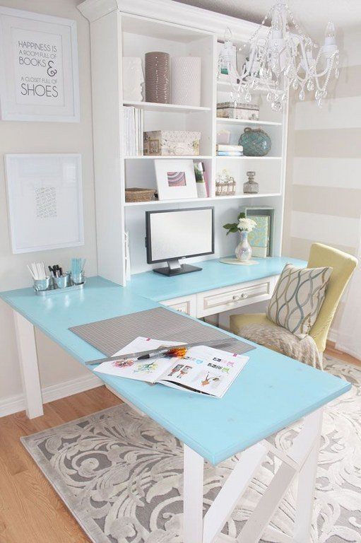 stylish L desk
