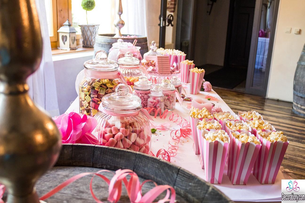 25 Fluffy Candy Bar Idea For Wedding Buffet Decor Or Design