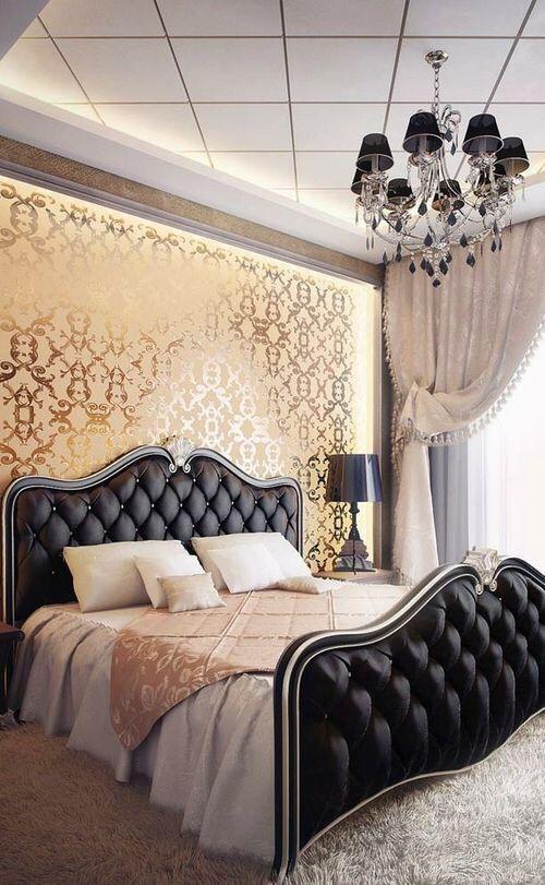 classy bedroon interior decoration