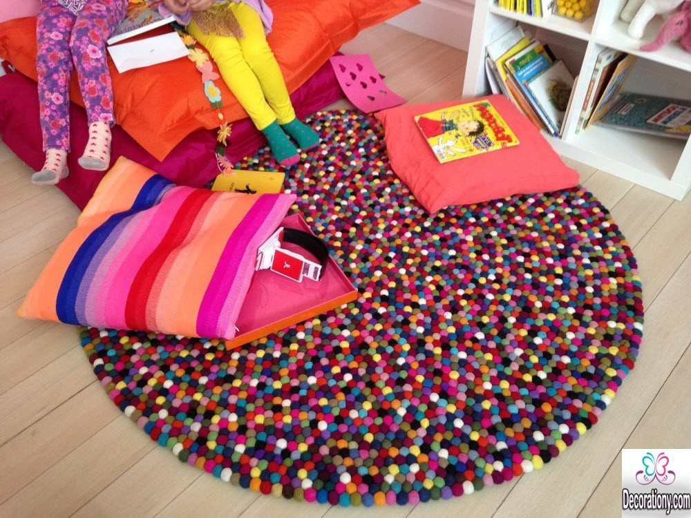 colorful rugs for girls