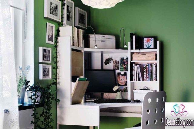 corner workspace design