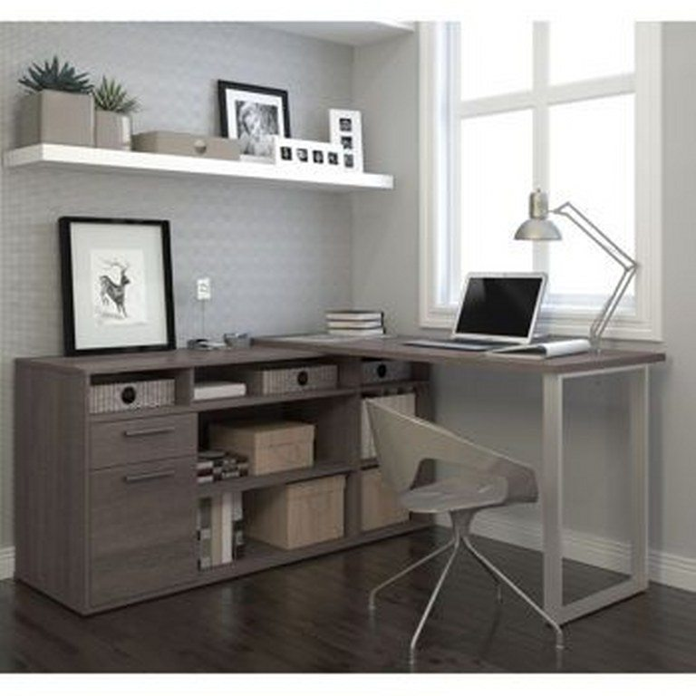 12 Smart L Shaped Desk Ideas For Home Office Decoration Y
