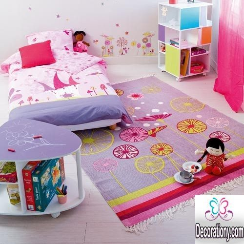 30 Adorable Area Rugs For Girls Bedroom Bedroom