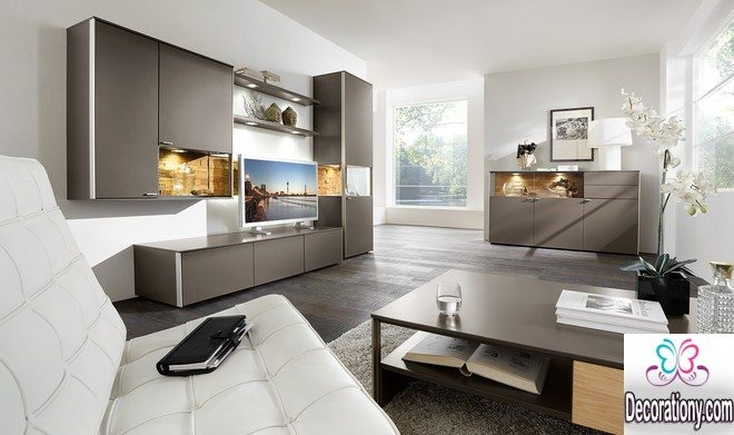 grey living room design