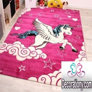 30 Adorable Area Rugs For Girls Bedroom