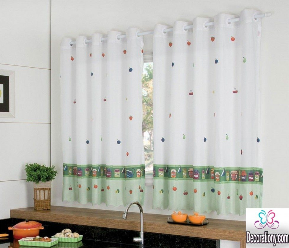 kitchen curtain design 25 modern curtains designs for more look decor 1054
