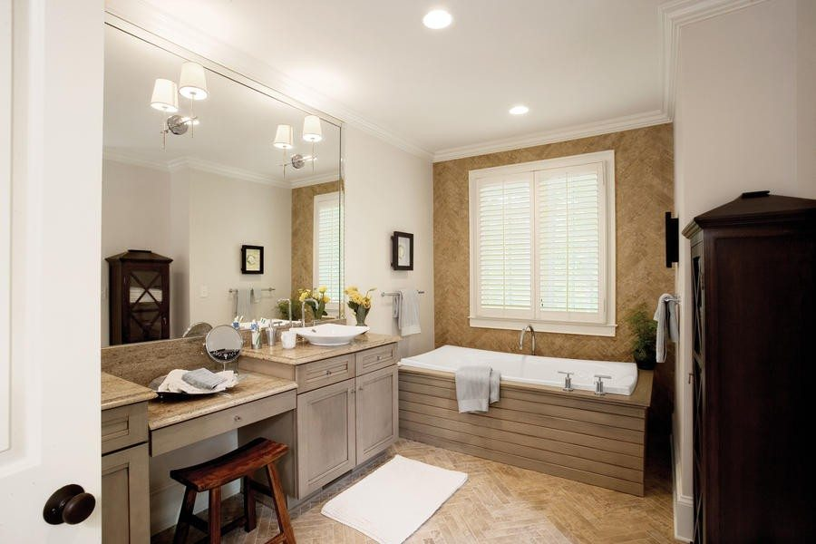 bathroom designs for large spaces