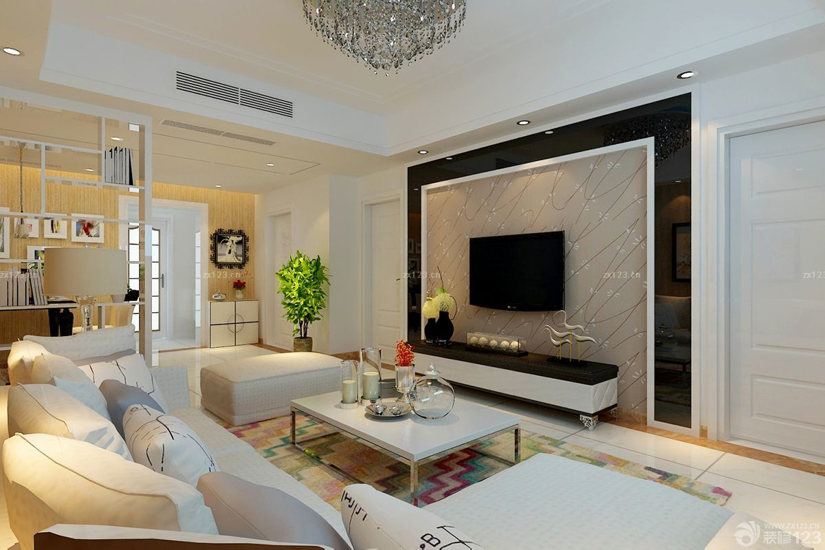 35 modern living room designs for 2017 decoration y for Family room design ideas