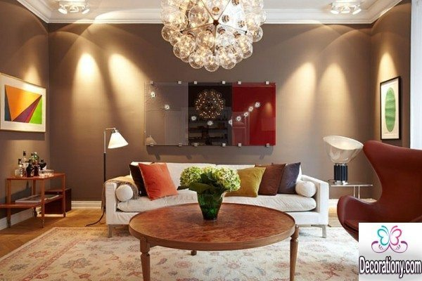 living room wall color idea