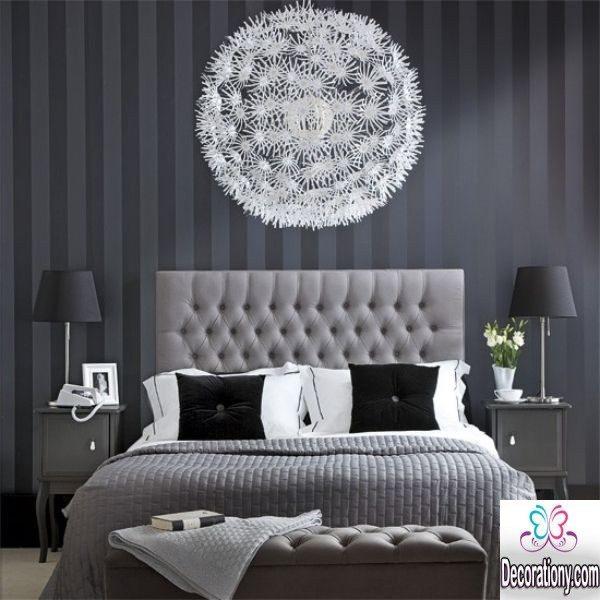 modern gray bedroom design