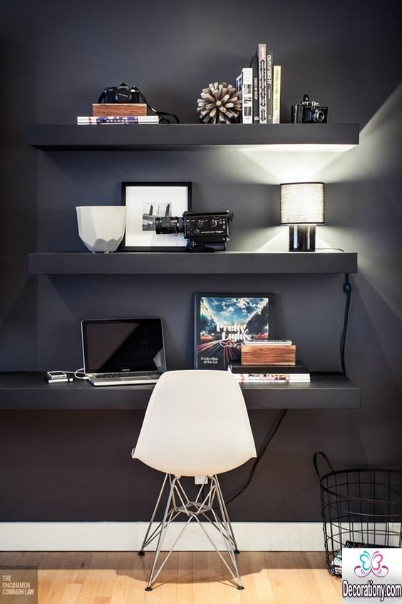 30 unique home office ideas for more comfort decoration y Unique home office ideas