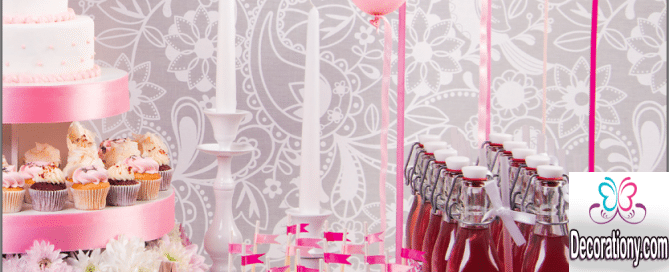 pink candy wedding idea
