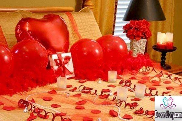 romanric bedroom decoration