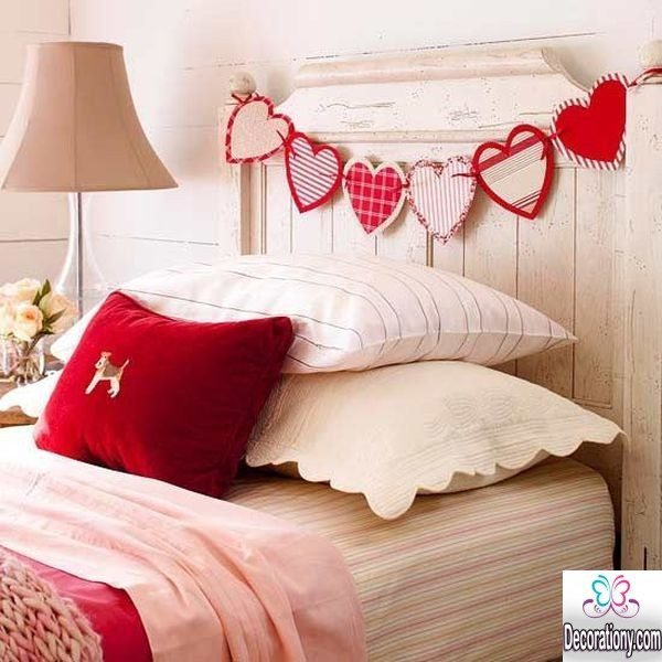 romantic bed decorating ideas