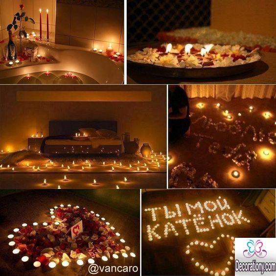 romantic candels