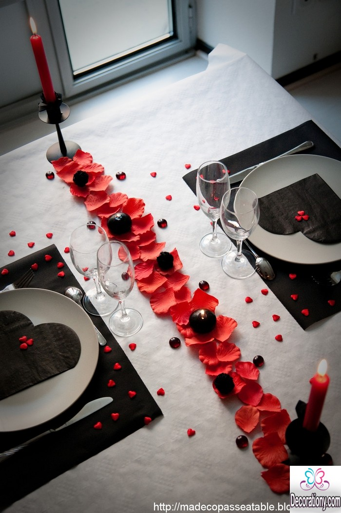 romantic decorating ideas for dining table