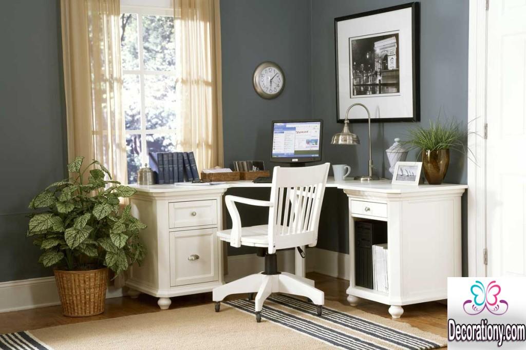 rustic home office idea