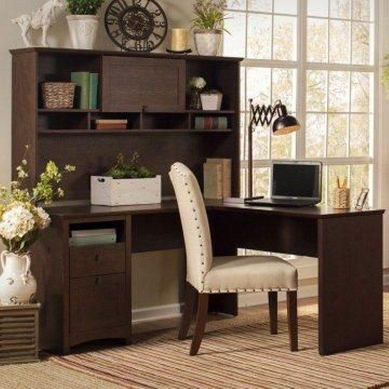 simple L desk