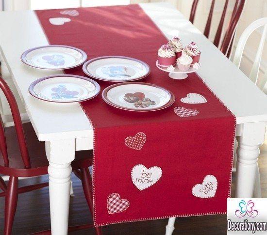 simple valentine decorating