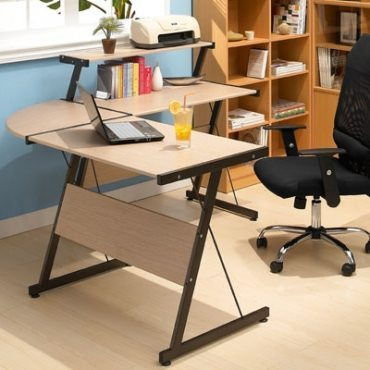 small L shape desk