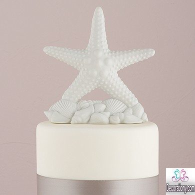 starfish cake topper for wedding