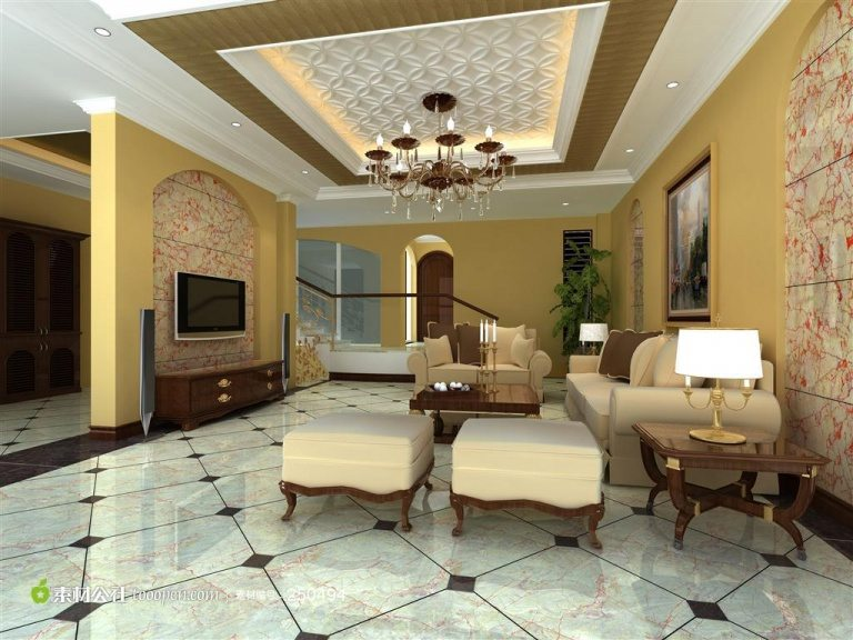 Modern living room design on budget
