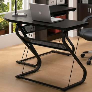 unique L desk design