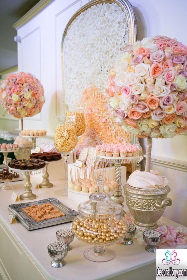 unique candy wedding