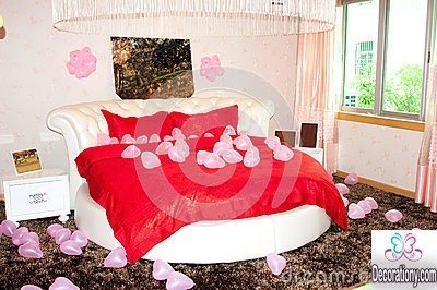 valentine day decorating ideas for bed