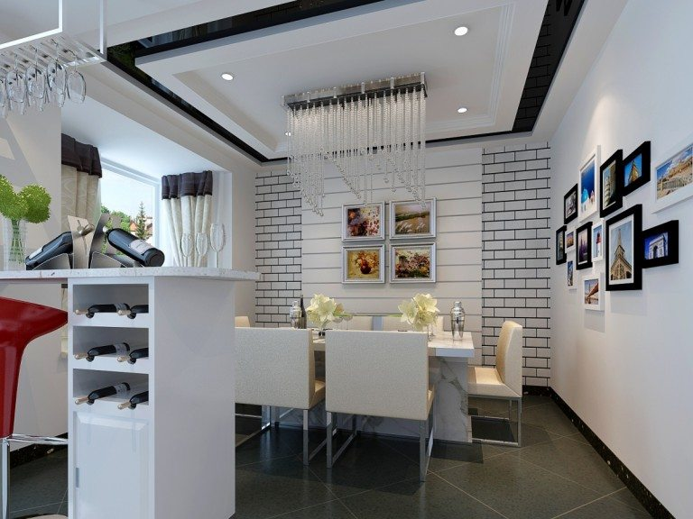 White kitchen beautiful design