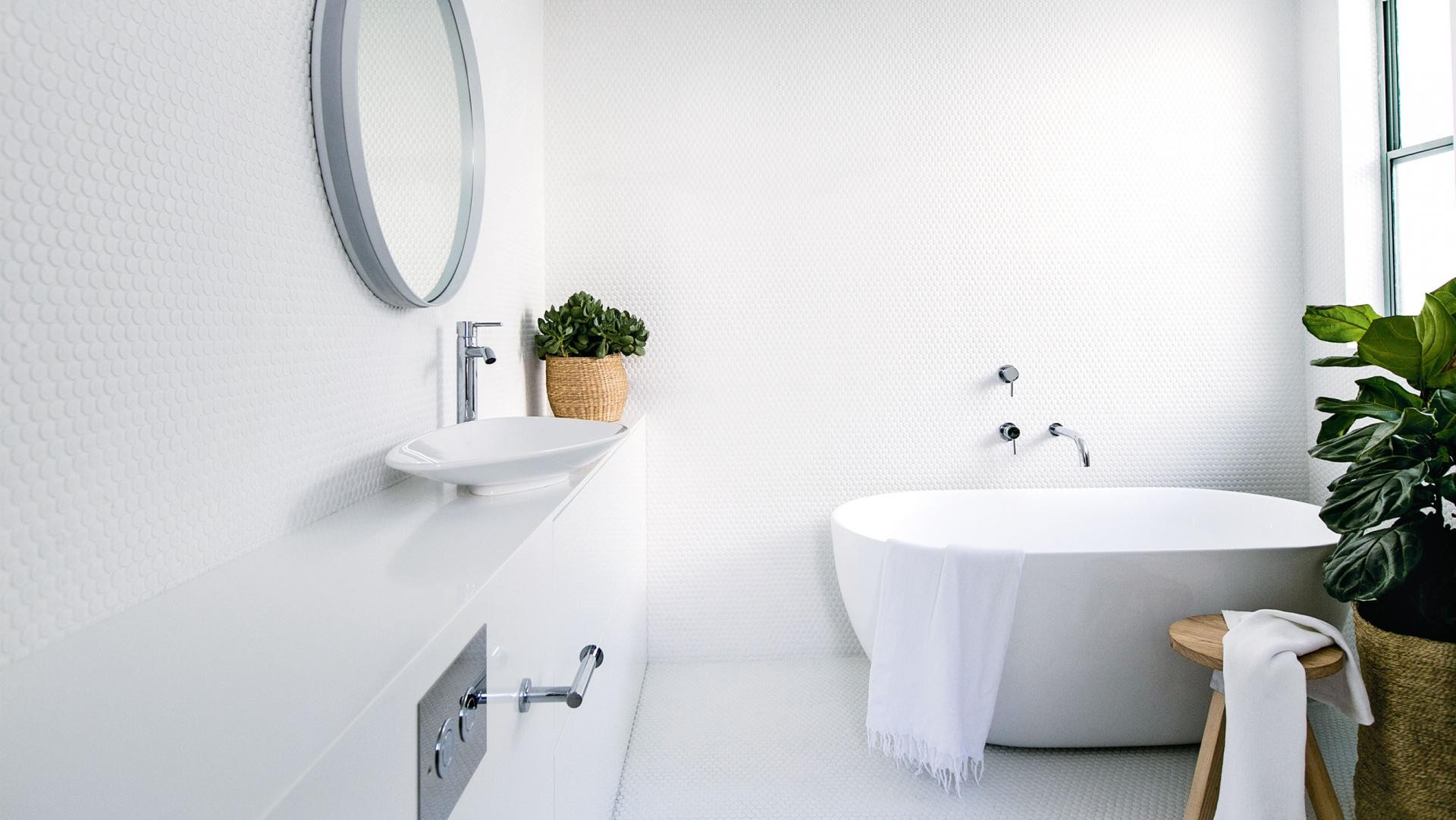 What bathroom designs for large spaces