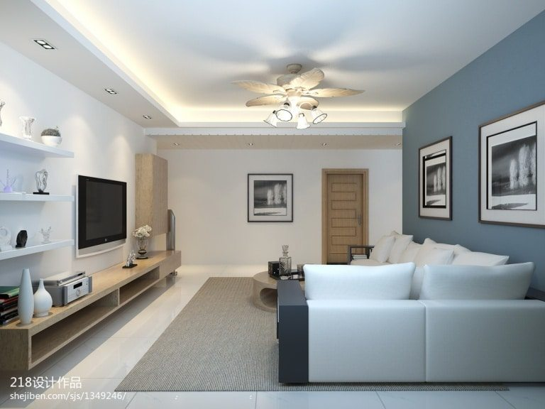 White living room design ideas