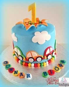 Marvelous Coolest 1St Birthday Cakes Ideas For Boys Girls Decor Or Design Personalised Birthday Cards Veneteletsinfo