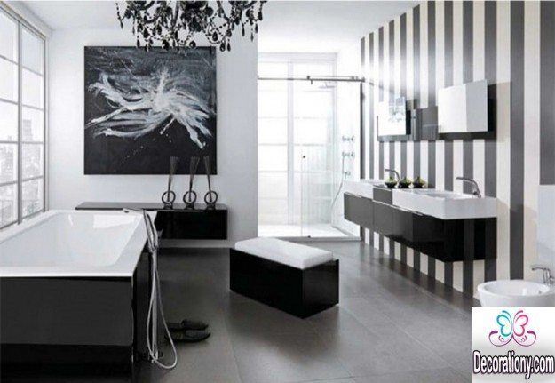 Black and White Bathroom 2018
