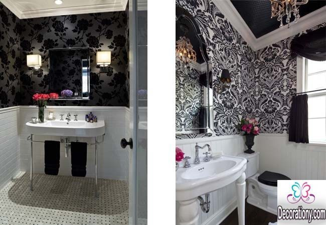 Black and White Bathroom 4