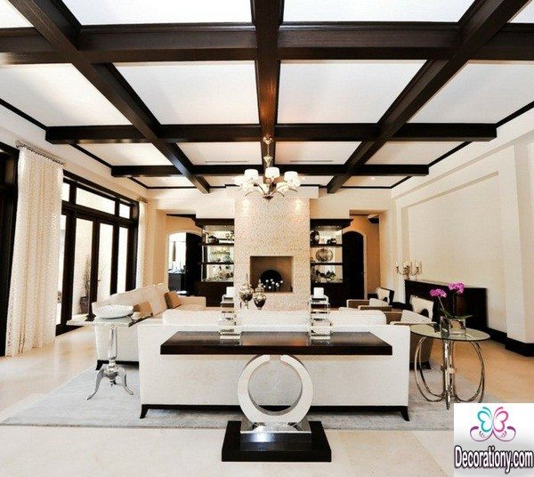 With You The Latest Coffered Ceiling Design Ideas Hope You Like It