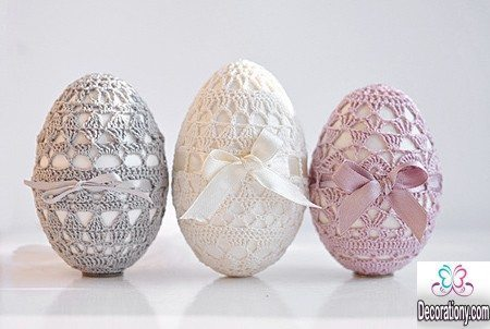 Easter Egg lace Decorating
