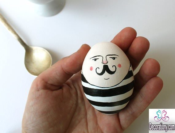 funny Egg decorating
