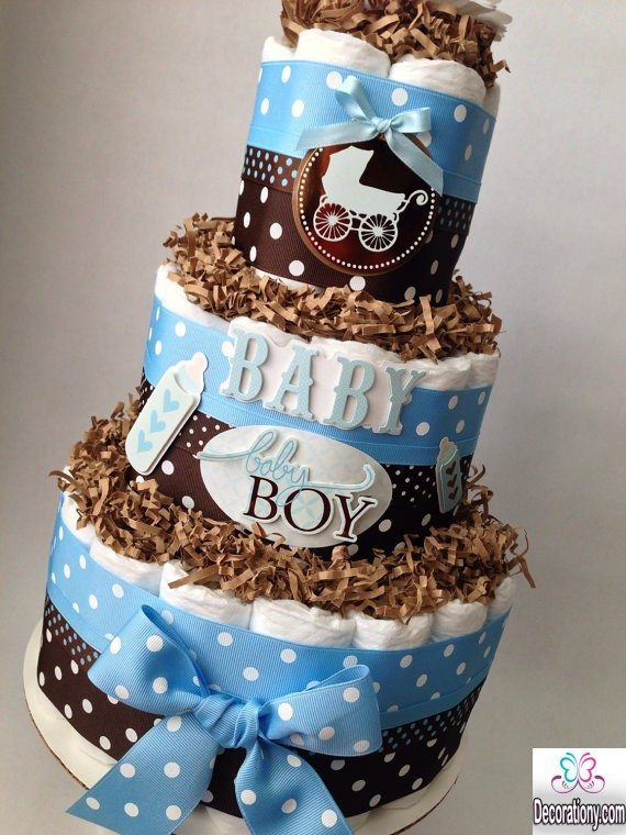 13 Easy cake decorating ideas for baby shower - Decoration Y