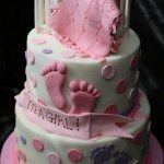 baby shower cake decorating idea